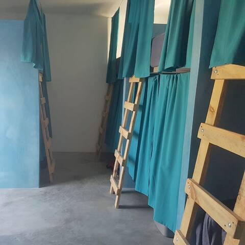 Bed One in La Ventana Hostel