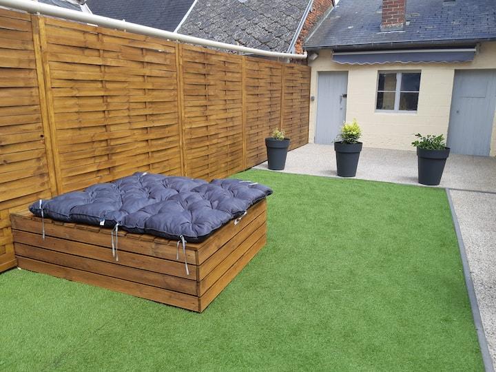 Maison Goderville avec jardin (Etretat-Deauville)