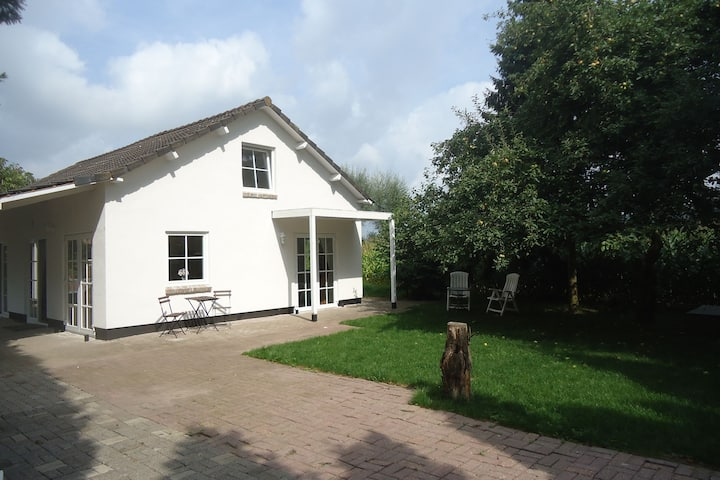 Cozy Holiday Home in Spijk with Meadow View