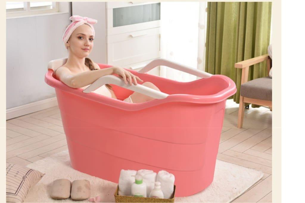 配套养生沐浴桶,可美容养颜、活血化瘀、延年益寿。