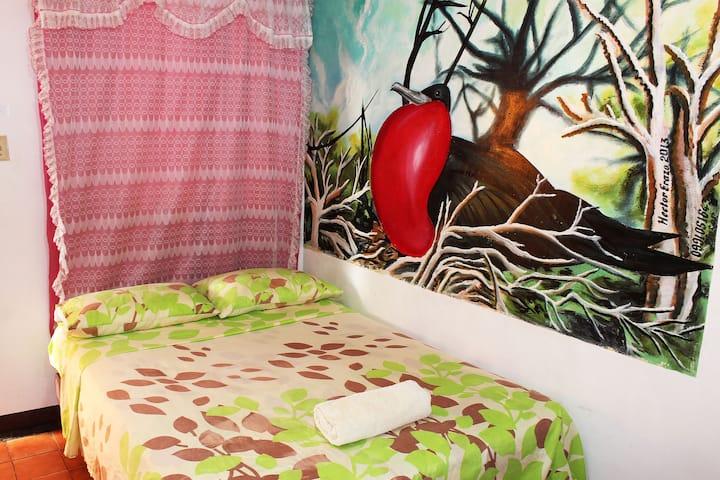 Habitación Individual o Doble CERCA AL MUELLE ♡
