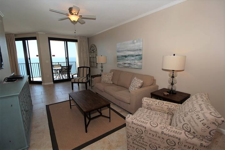 Phoenix X 1505- Gulf Front View, Large Terrace, Private Beach Access!
