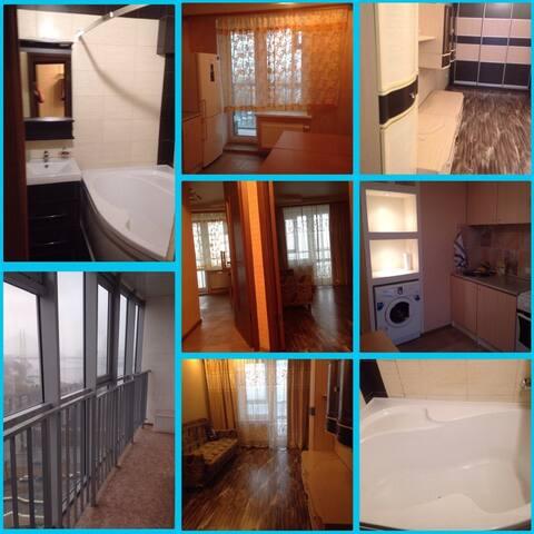 Современная,уютная квартира!!! - Sint-Petersburg - Appartement