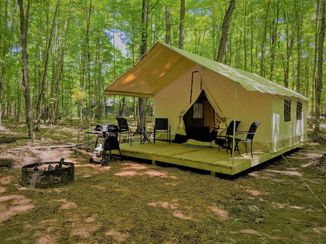 POV Resort Campgrounds - Social Distancing at its Best, Luxury Tent #11 (A-Frame Style)