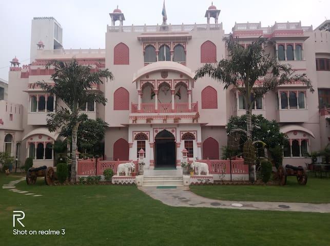 Bharat Niwas heritage located  in heart of jaipur.