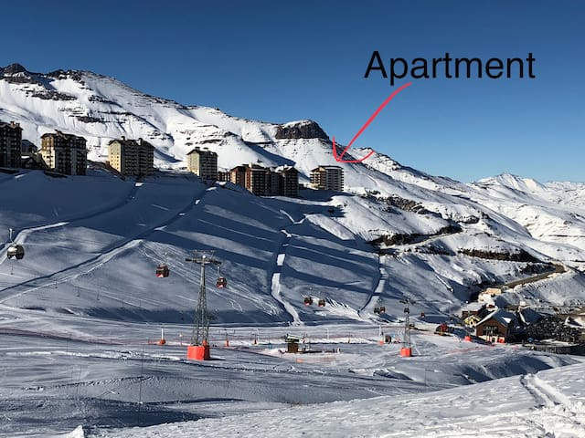 Studio en Valle Nevado Ski Resort