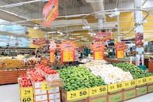 Fresh market in Tesco Lotus