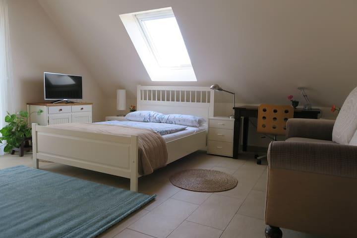 schöne Wohnung in Bad Nauheim, nahe Frankfurt
