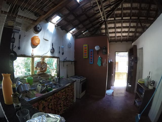 Casa no paraiso do Pouso da Cajaiba