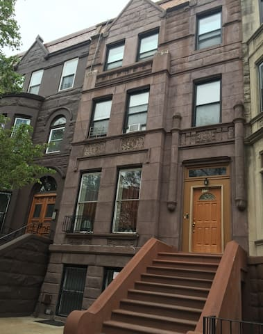 Entire 1 Bedroom Apt.  Inside Brownstone. #2