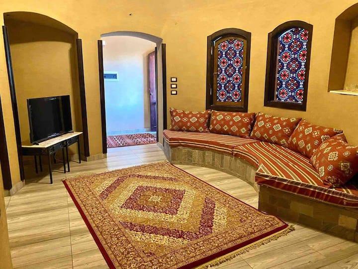 Gold's villa - dome style
