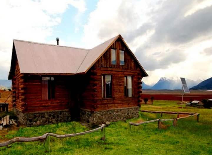 Cabaña en Estancia a 45km del Glaciar PeritoMoreno