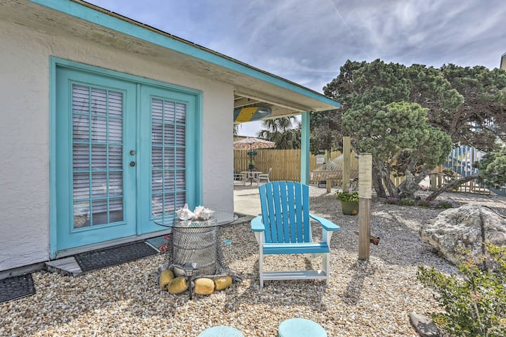 Studio Steps to Beach & 7.6 Mi to Pier Park!