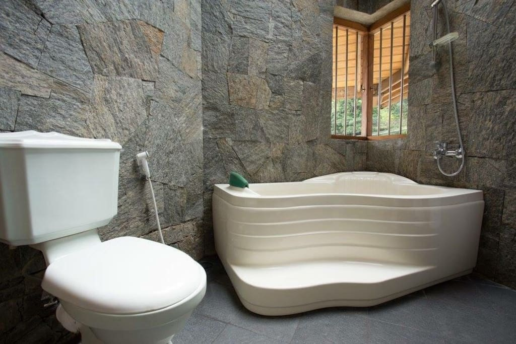 Bathroom of Room Green Paradise