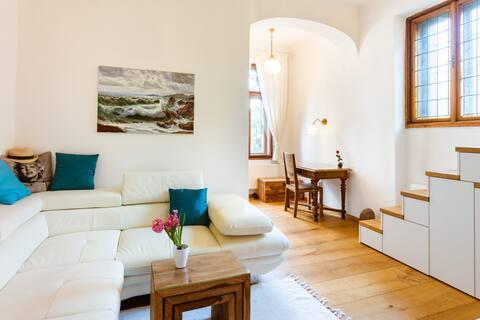 Luxusní studio v zahradách hradu Špilberk