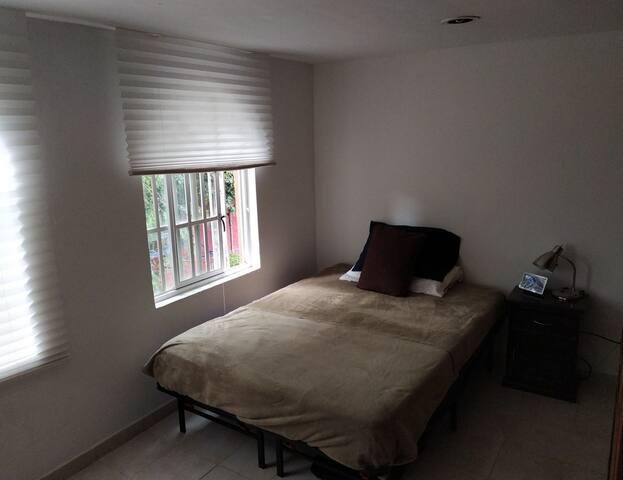Cómodo y lindo cuarto cerca del centro de Tlalpan