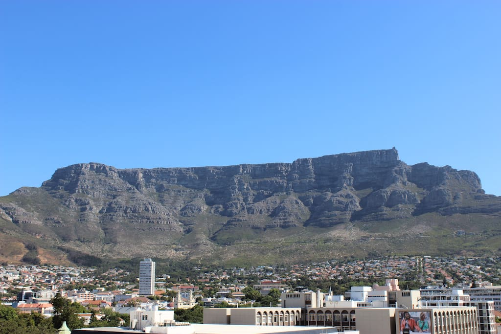 Uninterrupted views of Table Mountain from the Balcony