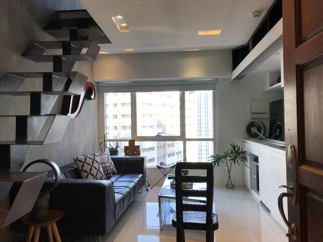 Cozy Minimalist Loft  Unit in Ortigas, Pasig City