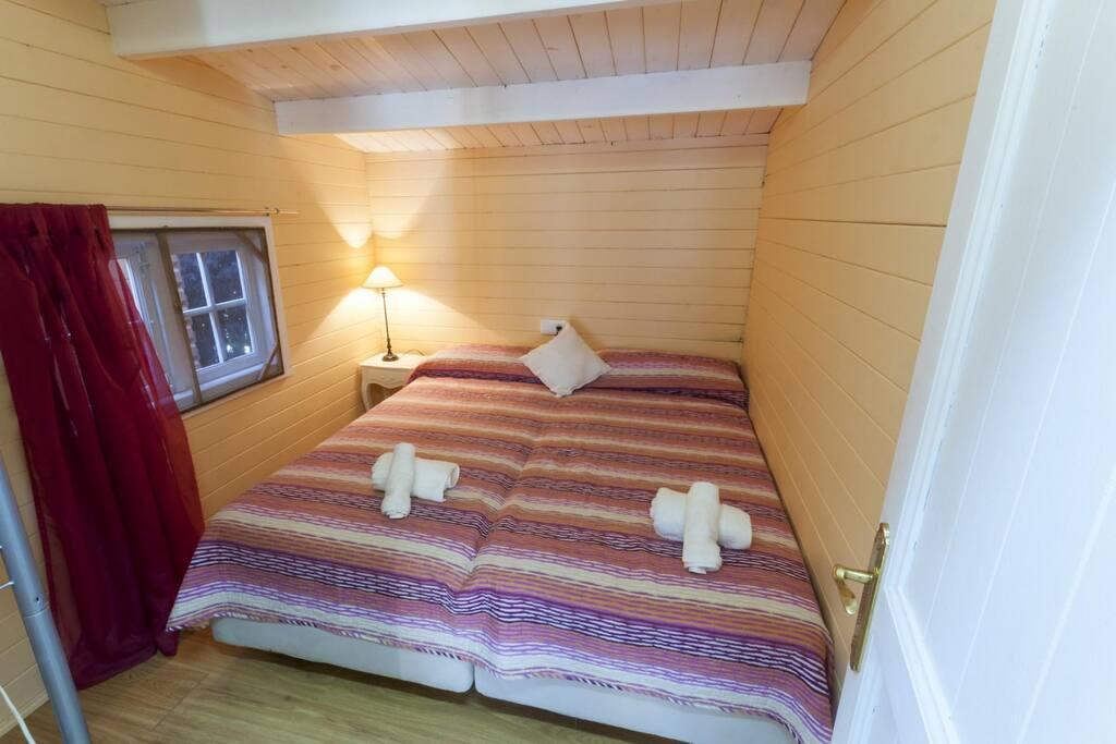 Habitación de Matrimonio, son dos camas juntas
