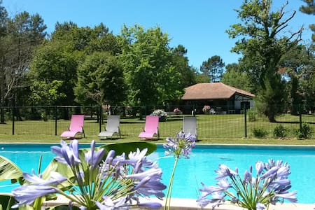 Propriété de charme avec tennis et piscine privés - Boos - Casa