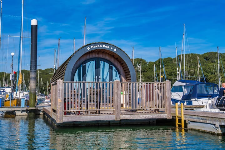 Haven Pod+  unique floating eco Pod!