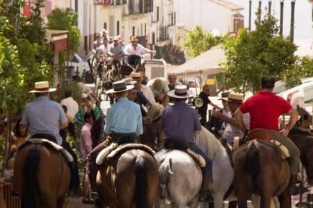 Piso en un Pueblo Andalou, centro histórico.