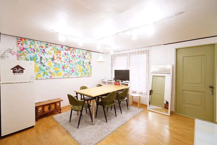 Lovely RALA COTTAGE at Gongdeok Stn. (150m away) - Mapo-gu - Appartamento