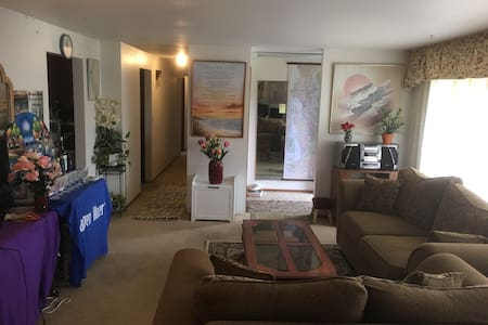 Smart Private Room in Kent & Seattle Area - Kent - Casa