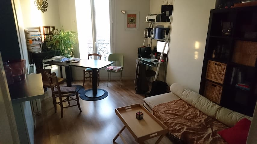 Appart 2 piece (20 min Paris Centre)
