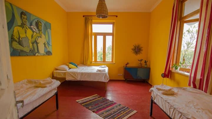 KARMA Hostel Vitamine D private room for 4 people