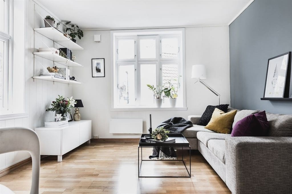 Great space with big windows