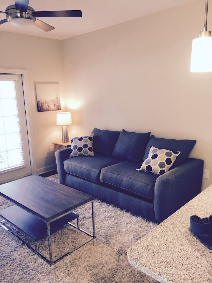 Convenient, well-furnished, happy