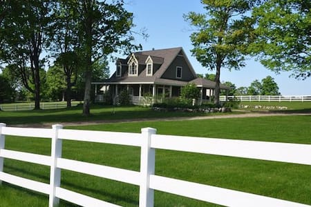 Equestrian Estate - Harbor Springs - Hus