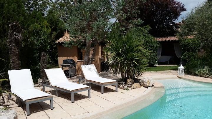 Jolie villa au calme entre Aix et Marseille