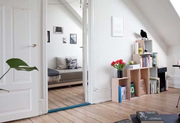 Sunny Room with private balcony - Copenhague - Loft