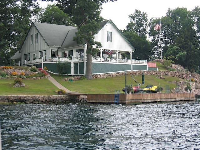 1000 Islands Great Camp - Alexandria Bay - Maison