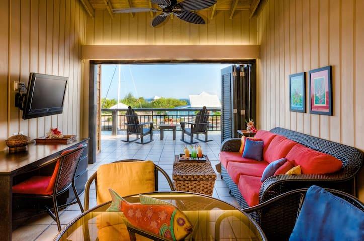 Barefoot Divers Lodge- Two Bedroom Oceanview Suite