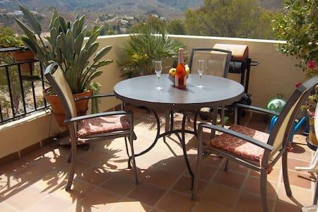 2 Doble Habitaciones,B&B, en plena Sierra Cabrera - Turre - Szoba reggelivel