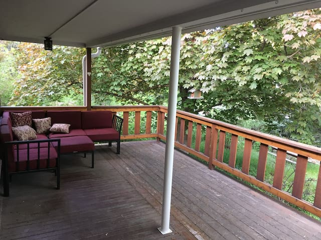 Millcreek Home with a Deck