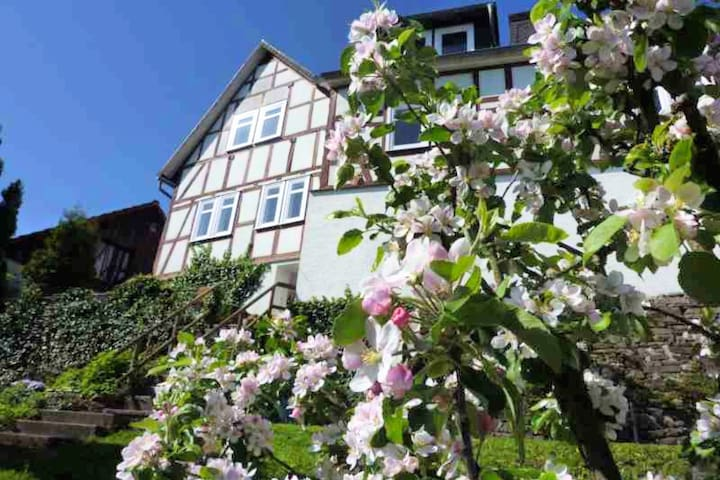 Holiday home in the old town centre of Battenberg in the beautiful Ederbergland.