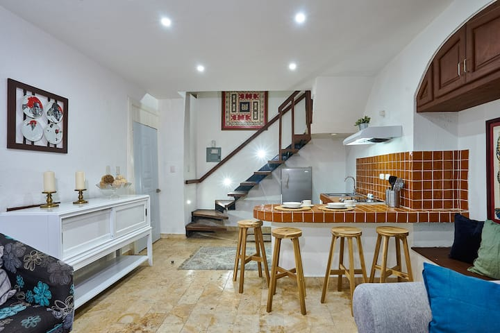 Amazing 2 BR Colonial Loft with Roof Top Terrace