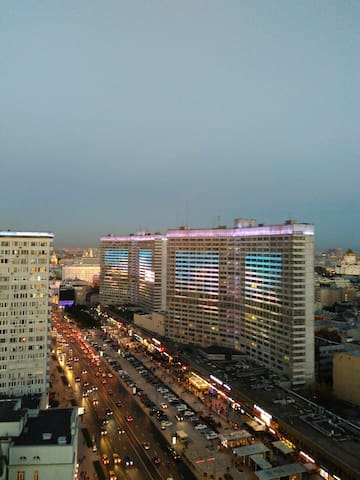 Moscow dream from the roof top - Moskva - Apartmen