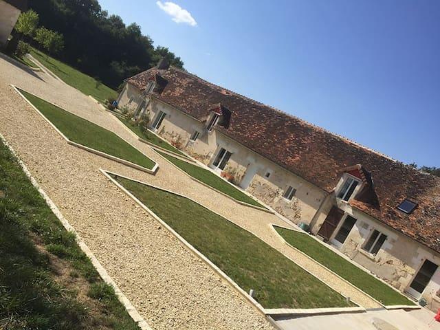 Gîte 2 chambres en Touraine-Berry - Châtillon-sur-Indre - Leilighet