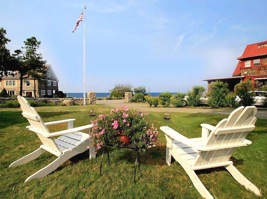 There are many ways to enjoy the views at The Seaward