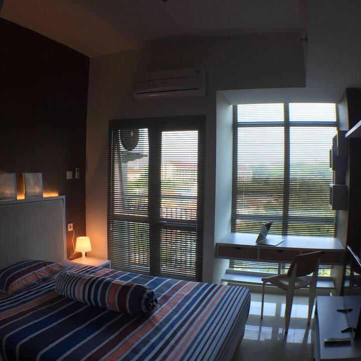 Jatinangor Apartment w view for student/traveler
