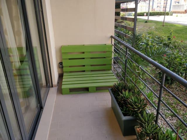 Apartamento com 2 quartos com vista Jardim