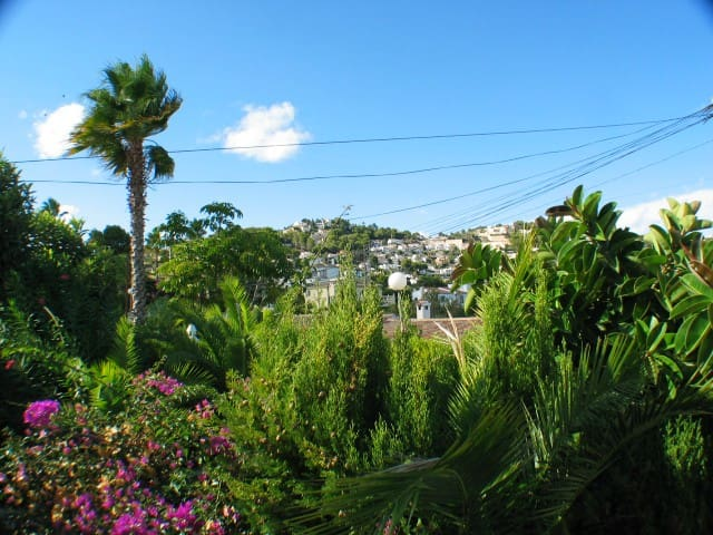 Uitzicht vanaf het terras / Vista desde la terraza