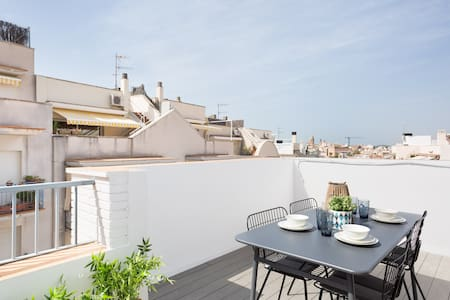 2 bedrooms apartment with terrace