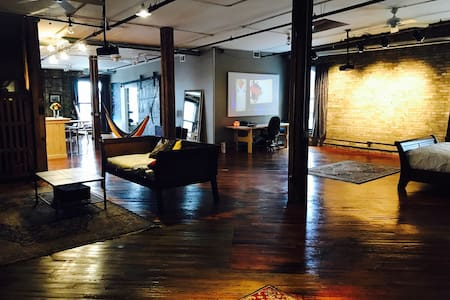 PENTHOUSE LOFT - Minneapolis - Loteng