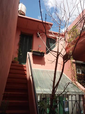 La Casa rosa en palermo y chacarita